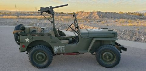 1942 Ford GPW Jeep WW2 for sale