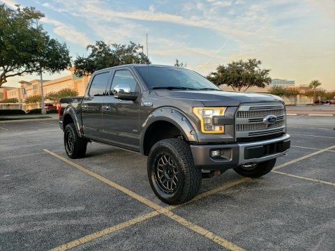 2015 Ford F 150 Platinum for sale