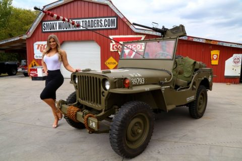 1947Jeep Willys CJ2A for sale