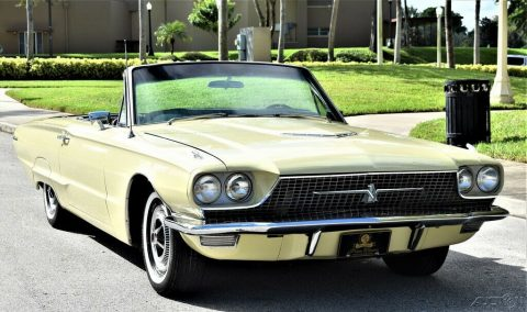 1966 Ford Thunderbird Convertible 390ci, Automatic 13k Actual Miles for sale