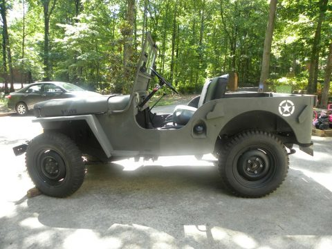 1947 Jeep Willys CJ2A MILITARY for sale