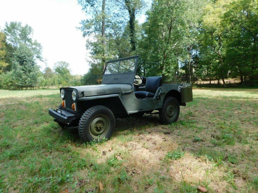 1947 Jeep Willys CJ2A MILITARY