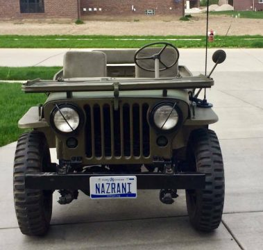 1953 Jeep Willys Overland MC M38 for sale
