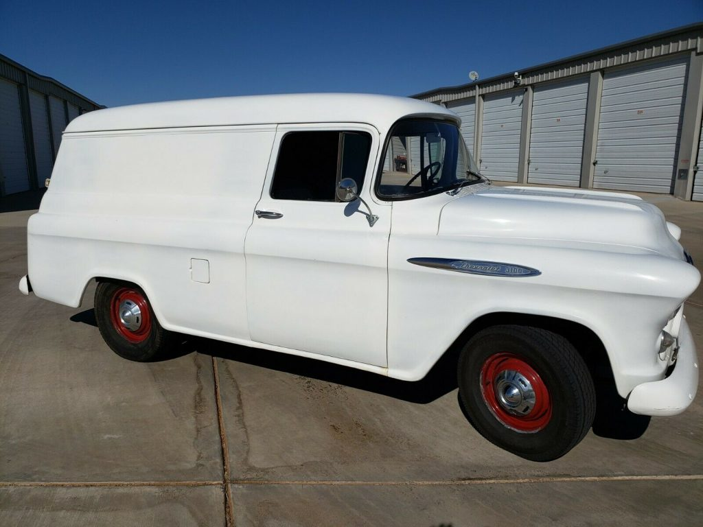 1957 Chevrolet Pickups Panel Delivery 3100 Classic Collector