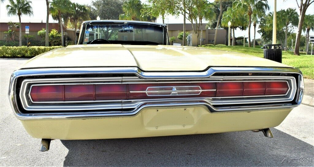 1966 Ford Thunderbird Convertible 390ci, Automatic 13k Actual Miles