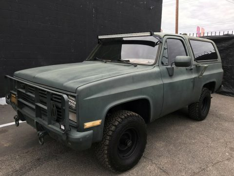 1986 Chevrolet Blazer Military , California Vehicle **rare, diesel for sale