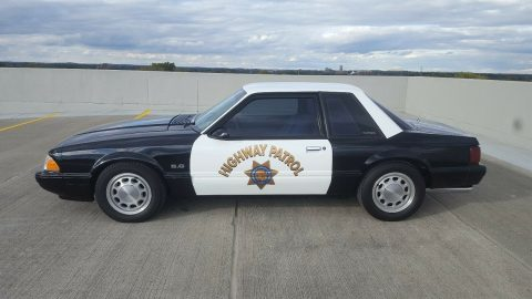 1989 Ford Mustang LX Police Car for sale