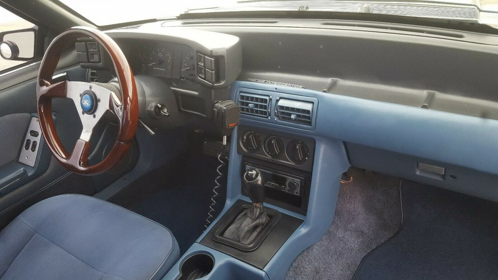 1989 Ford Mustang LX Police Car