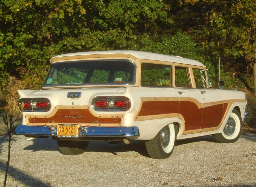 1958 Ford Country Squire 9 Passenger Woody Wagon 54K Miles