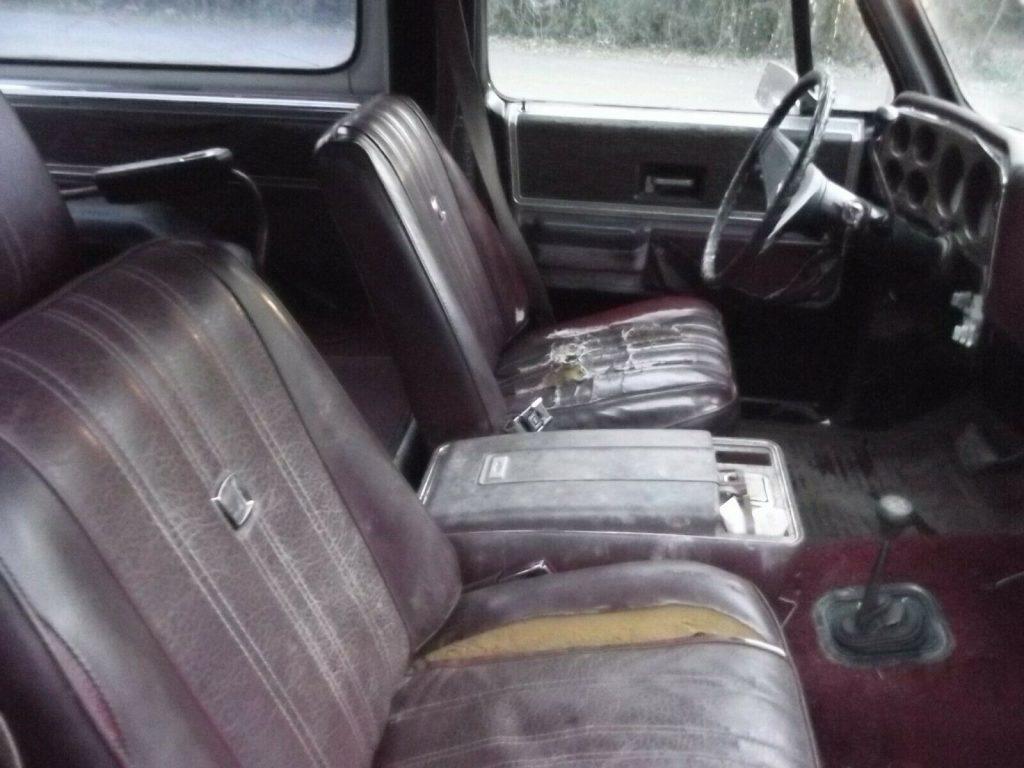 1976 Chevrolet Blazer K5 Cheyenne