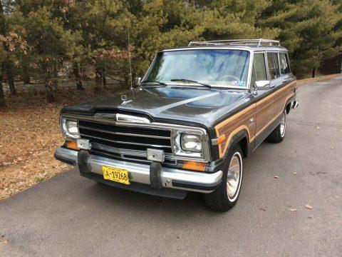 1986 Jeep Wagoneer Woodgrain for sale