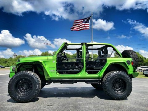 2018 Jeep Wrangler Mojito! Custom Lifted Leather Sahara 38″s for sale