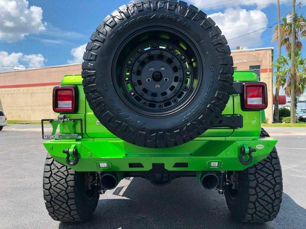 2018 Jeep Wrangler Mojito! Custom Lifted Leather Sahara 38″s