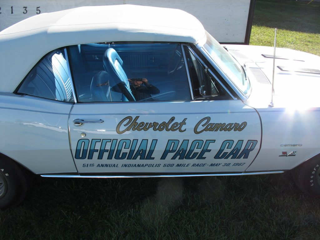 1967 Chevrolet Camaro Pace Car