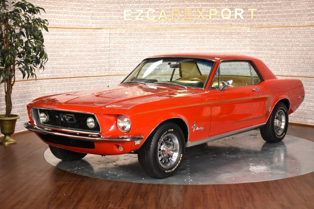 1968 Ford Mustang GT PACK / 4 Speed / Restored / SHIP WORLDWIDE
