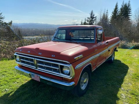 1971 Ford F 250 Ranger XLT for sale