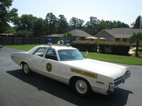 1972 Dodge Polara Police Car for sale