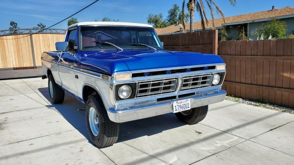 1976 Ford F 100 Ranger XLT 4×4