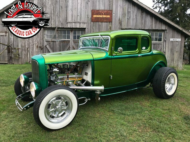 1932 Ford 5 Window Coupe SHOW CAR!