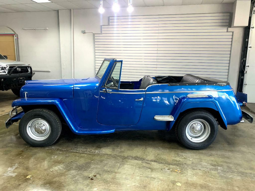 1950 Jeep Willys Jeepster V8 Automati