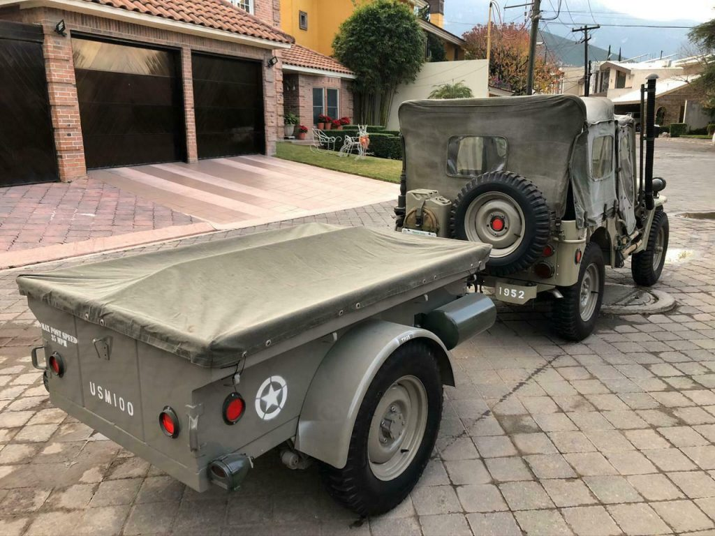 1952 Jeep Willys M38 with Full Original Accessories