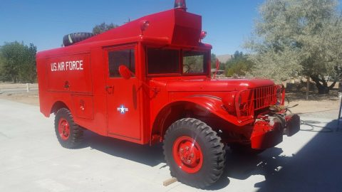 1953 Dodge M 56 Pilot Crash Truck for sale