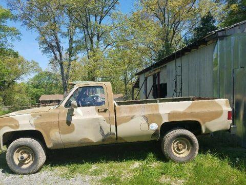 Chevrolet CUCV M1008 Military Pickup Truck 6.2L for sale