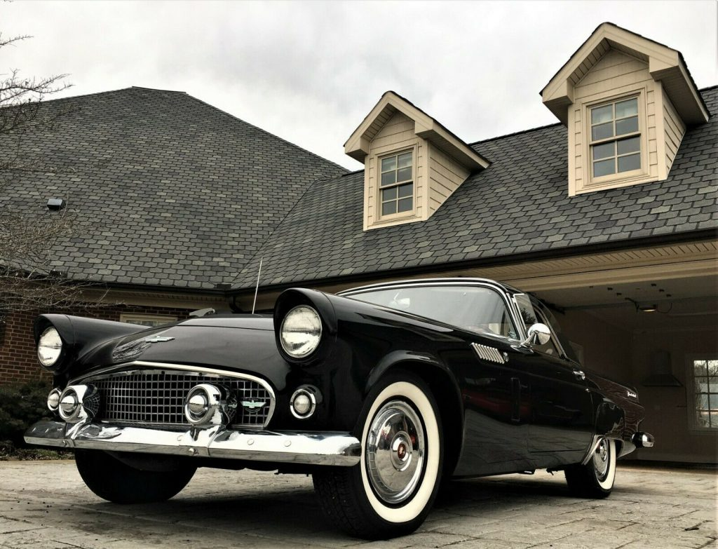 1956 Ford Thunderbird Triple Black