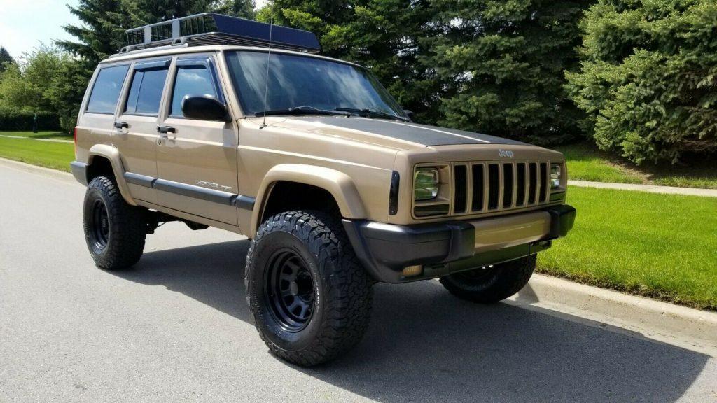 1999 Jeep Cherokee Lifted XJ! 4×4!