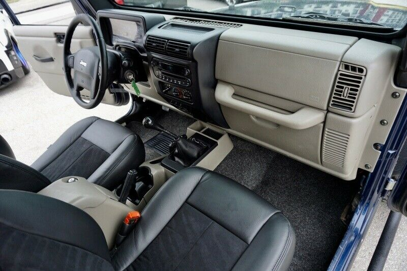 2005 Jeep Wrangler Wrangler 6cyl w/ 6 Speed Manual