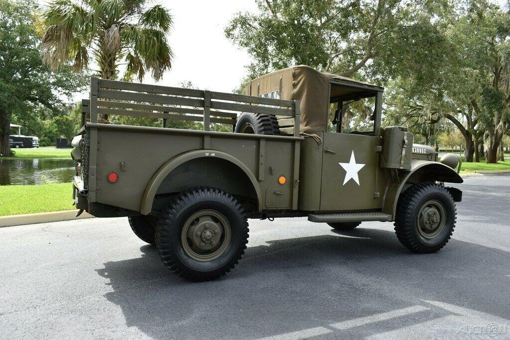 1953 Dodge M37 3/4 Ton Military Truck Flat 6 Cylinder