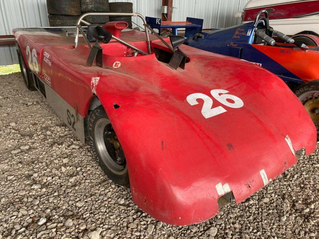 1978 Ford Lola T 492 race car, Full logs